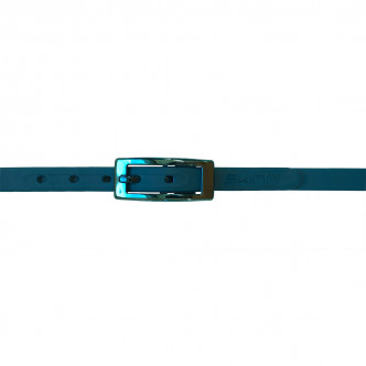 The Duck Blue Charmeuse Belt
