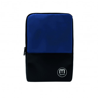 The Dark Blue Connectée S Laptop cover