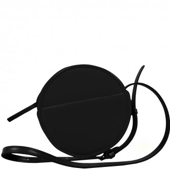 Night out? Take the round shoulder bag, the black Malicieux. Classic look.