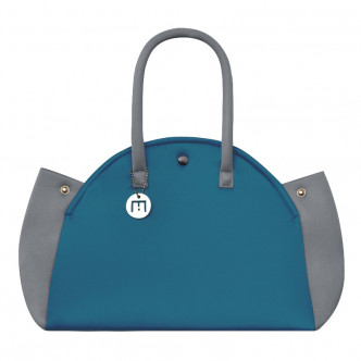 The Duck Blue & Grey Indomptable bag