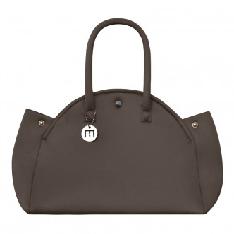 The classic brown foam handbag...take it the light way