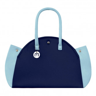 Like it more fun, get the dark & light blue Indomptable bag