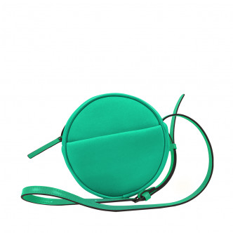 Get the green look. Spring is always up with this little Malicieux round handbag!