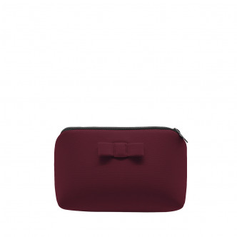 Out tonight, take your wine red Secrete pouch to warm things up