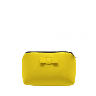 The yellow Secrete pouch, your little sunshine of the day...or night