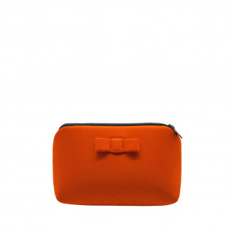 Think black and take the orange Secrete pouch
