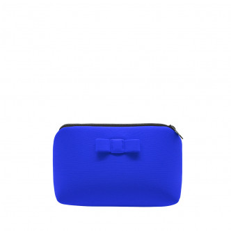 Store your personal stuff in a cute little azur blue pouch
