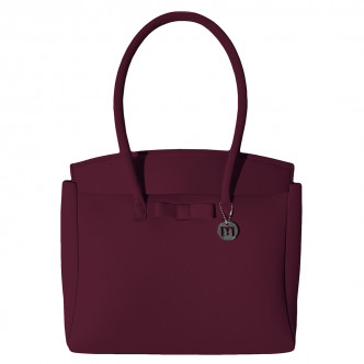 The wine red Felix L Bag