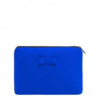 The Azur Blue Discrète Pouch