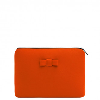 The Orange Discrète Pouch