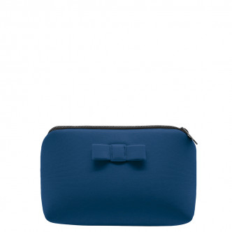 Pouch La Secrète - Teal blue